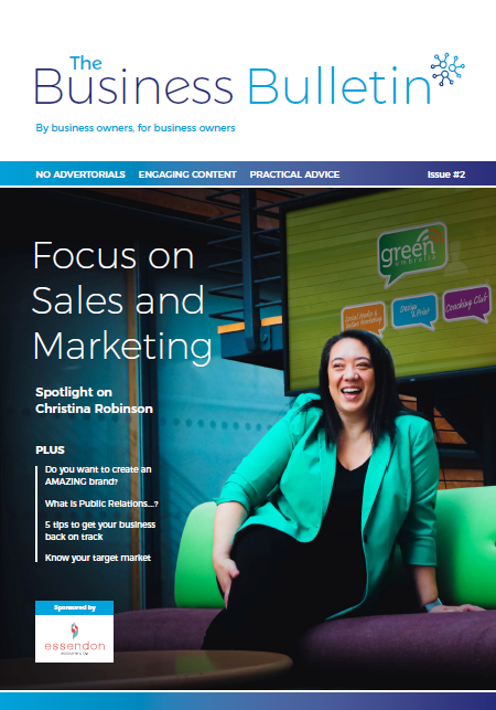 The Business Bulletin Issue #2 - Focus On Sales & Marketing