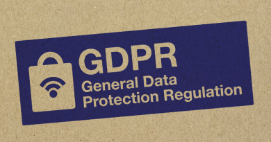 So what's the latest on GDPR?
