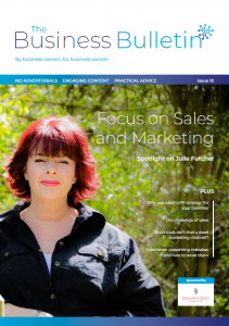 The Business Bulletin Issue #10 - Focus On Sales & Marketing
