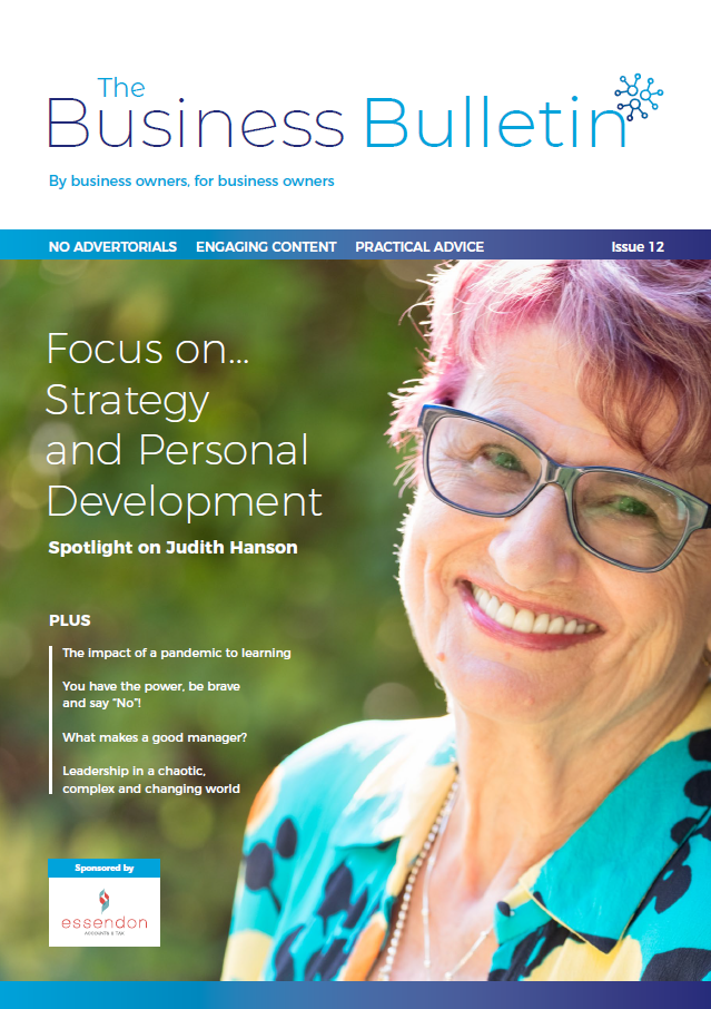 The Business Bulletin Edition 12 - focus on strategy & personal development